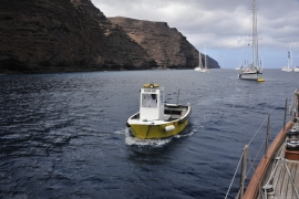 Fergebåten, £1,- pr pers